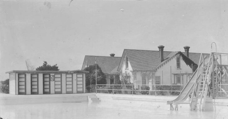 workman house pool 1921