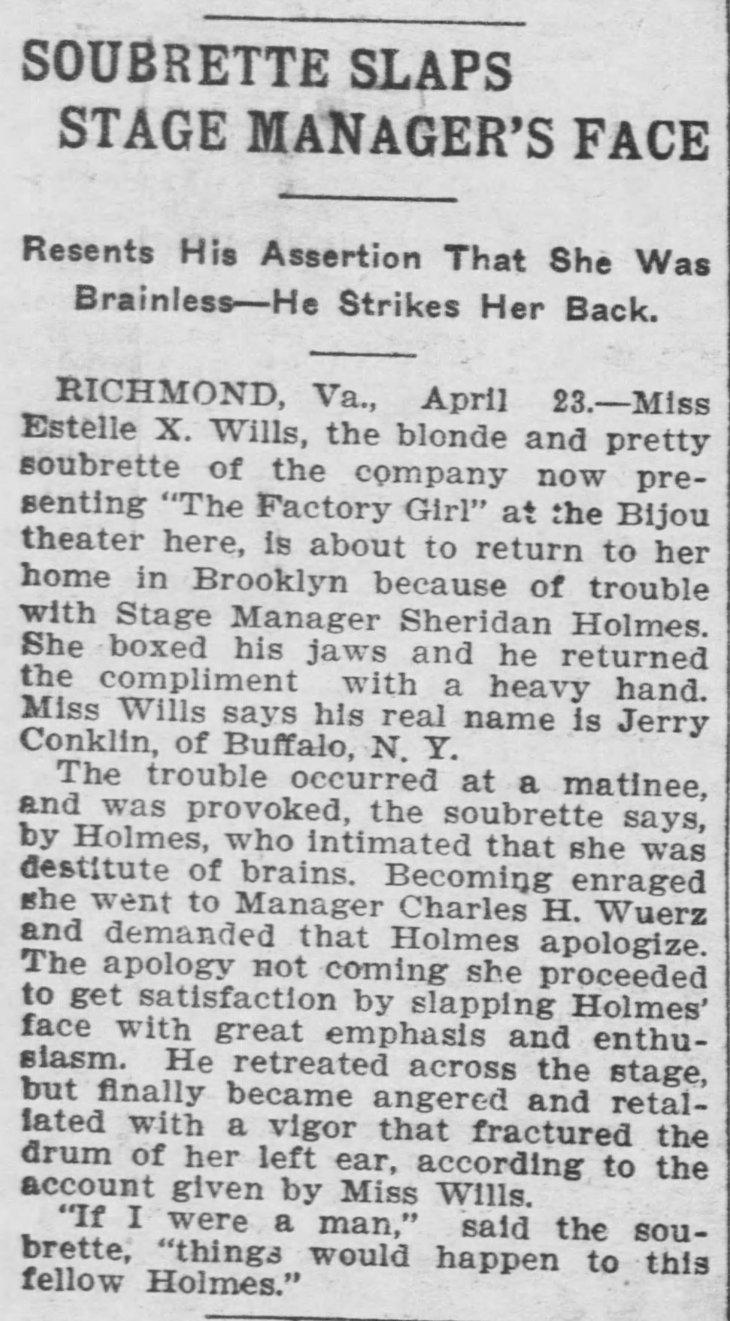 Estelle slaps stage mgr Saint_Paul_Globe_Apr_24__1904_