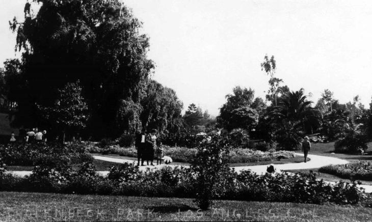 19054 View of Hollenbeck Park 2016.74.1.2