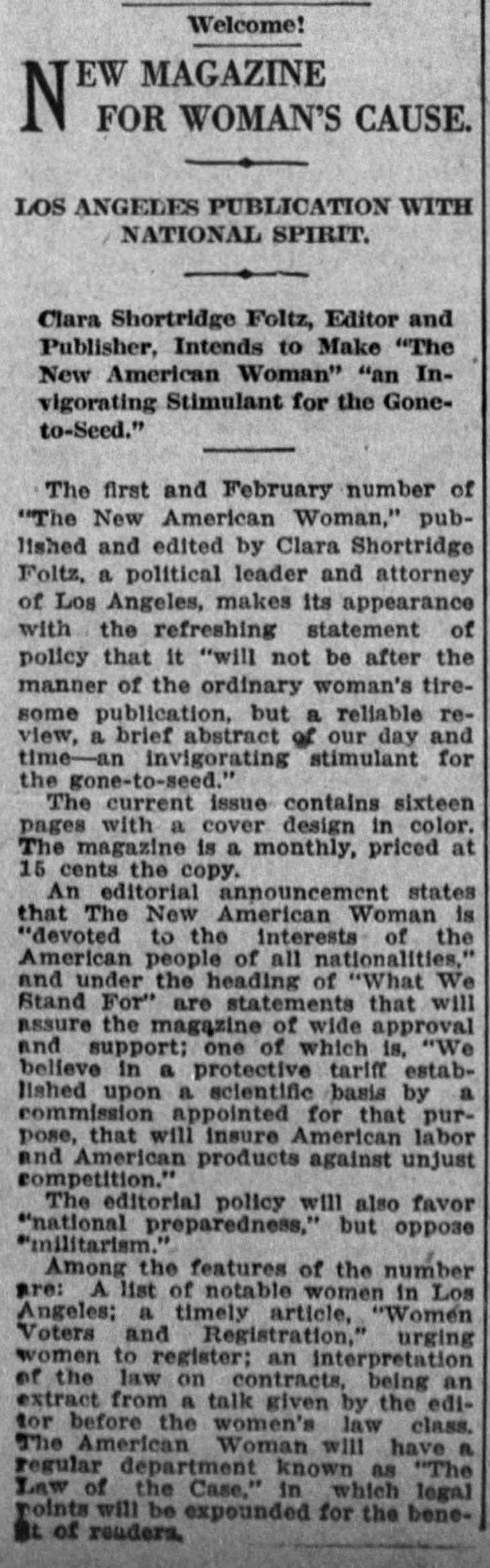 New American Woman Times_Feb_4__1916_