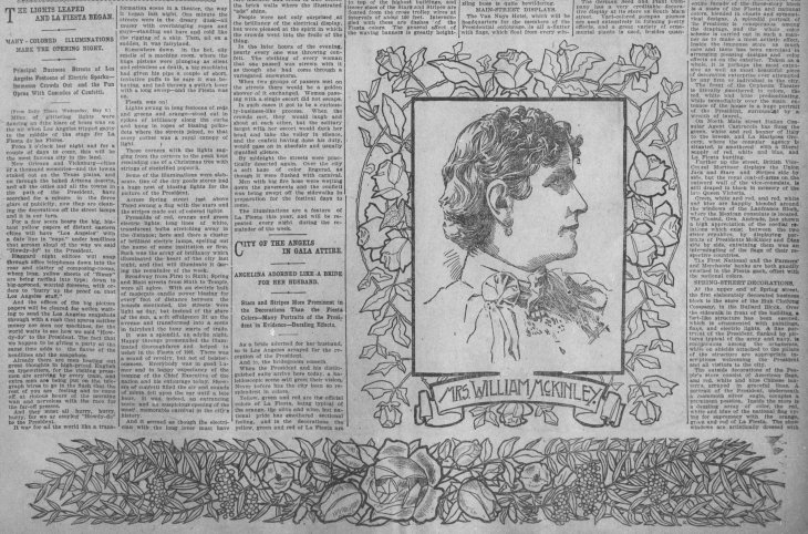 Mrs McKinley Fiesta article The_Los_Angeles_Times_Fri__May_10__1901_ (2)