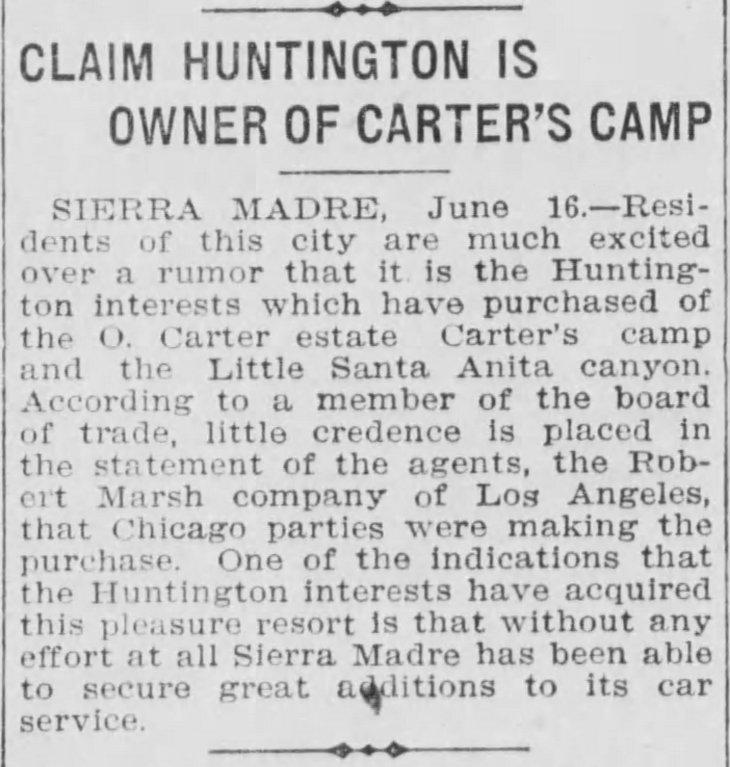 Carter's Camp Huntington Los_Angeles_Herald_Fri__Jun_17__1910_