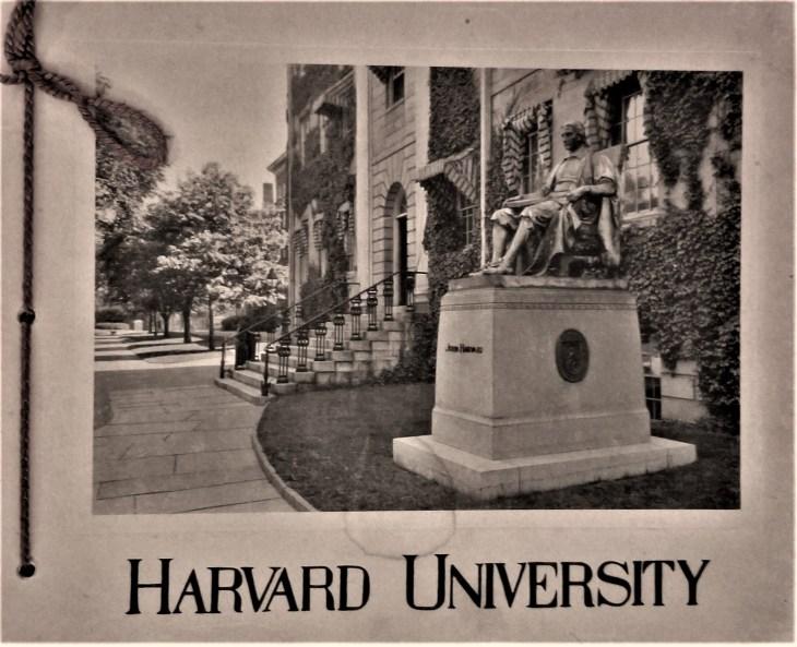 Harvard pamphlet