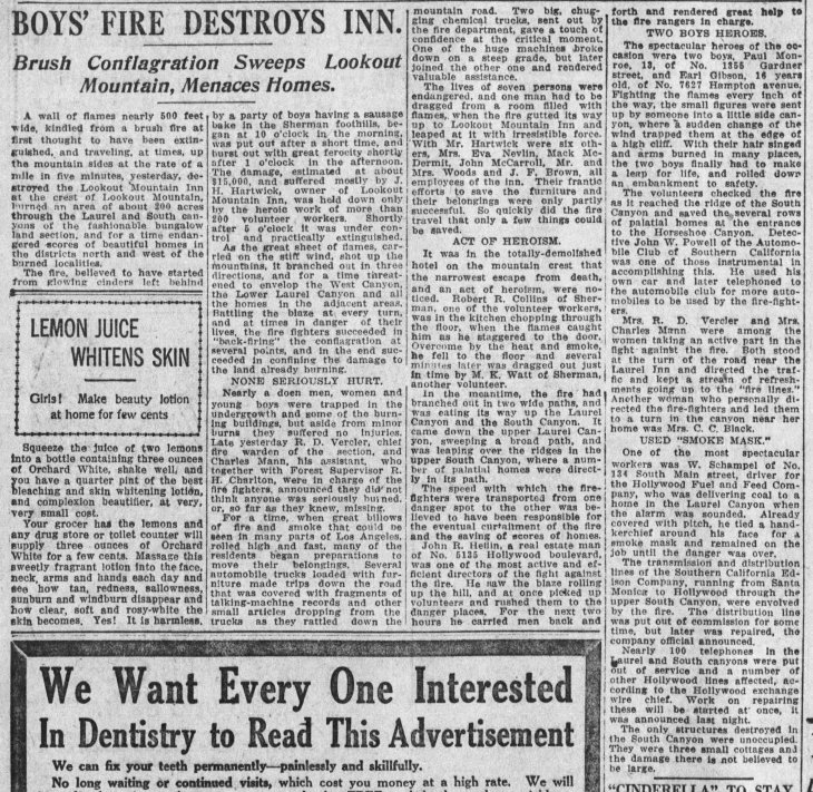 Lookout Mountain Inn fire The_Los_Angeles_Times_Sun__Oct_27__1918_ (1)