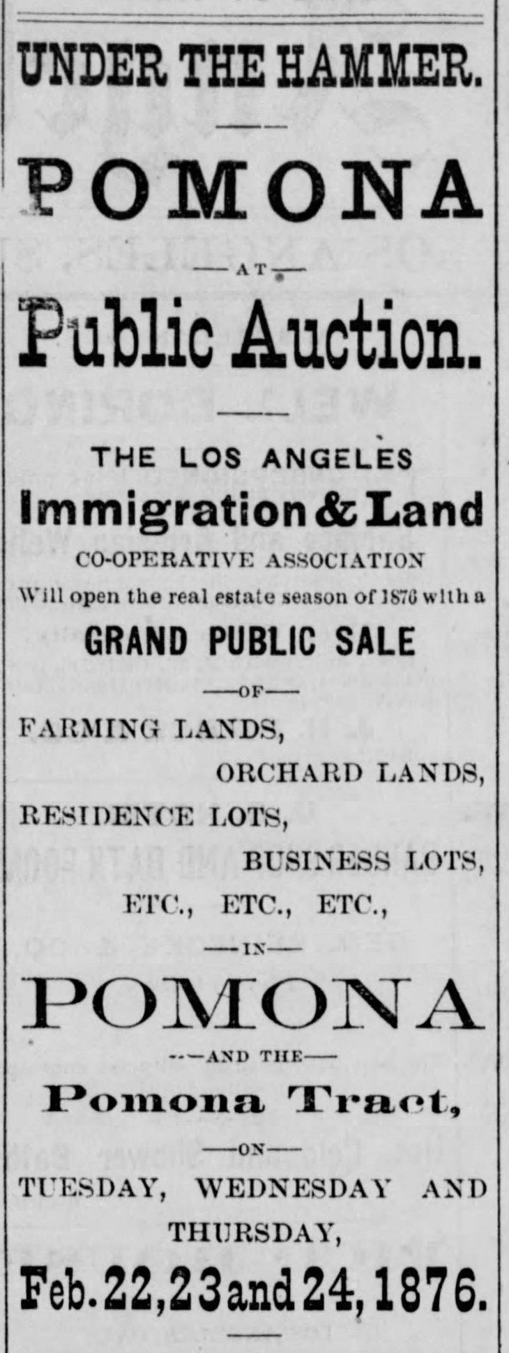 Pomona ad Los_Angeles_Herald_Sun__Feb_6__1876_