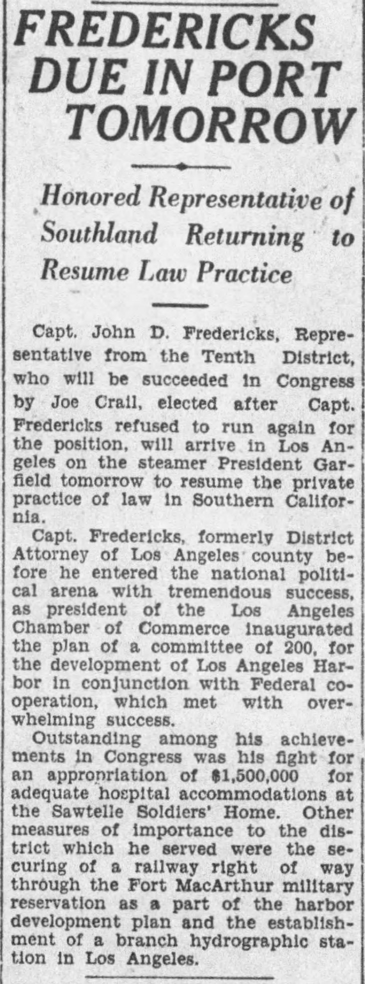 Returns from Congress The_Los_Angeles_Times_Sat__Apr_2__1927_