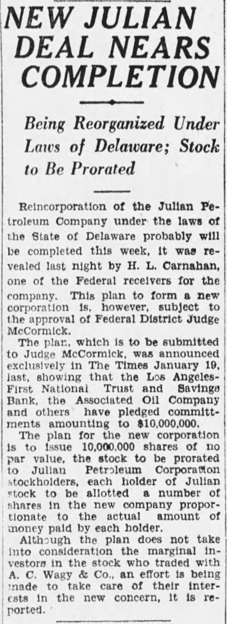 Julian reorg The_Los_Angeles_Times_Mon__Feb_13__1928_