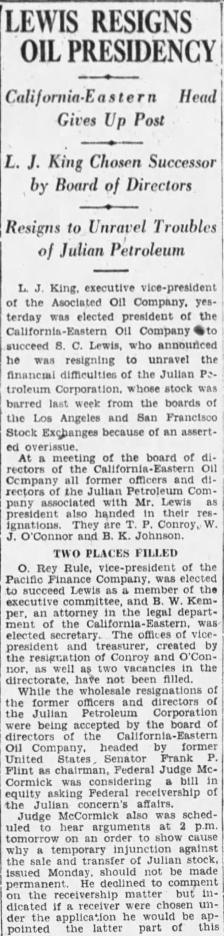 Lewis resigns The_Los_Angeles_Times_Wed__May_11__1927_
