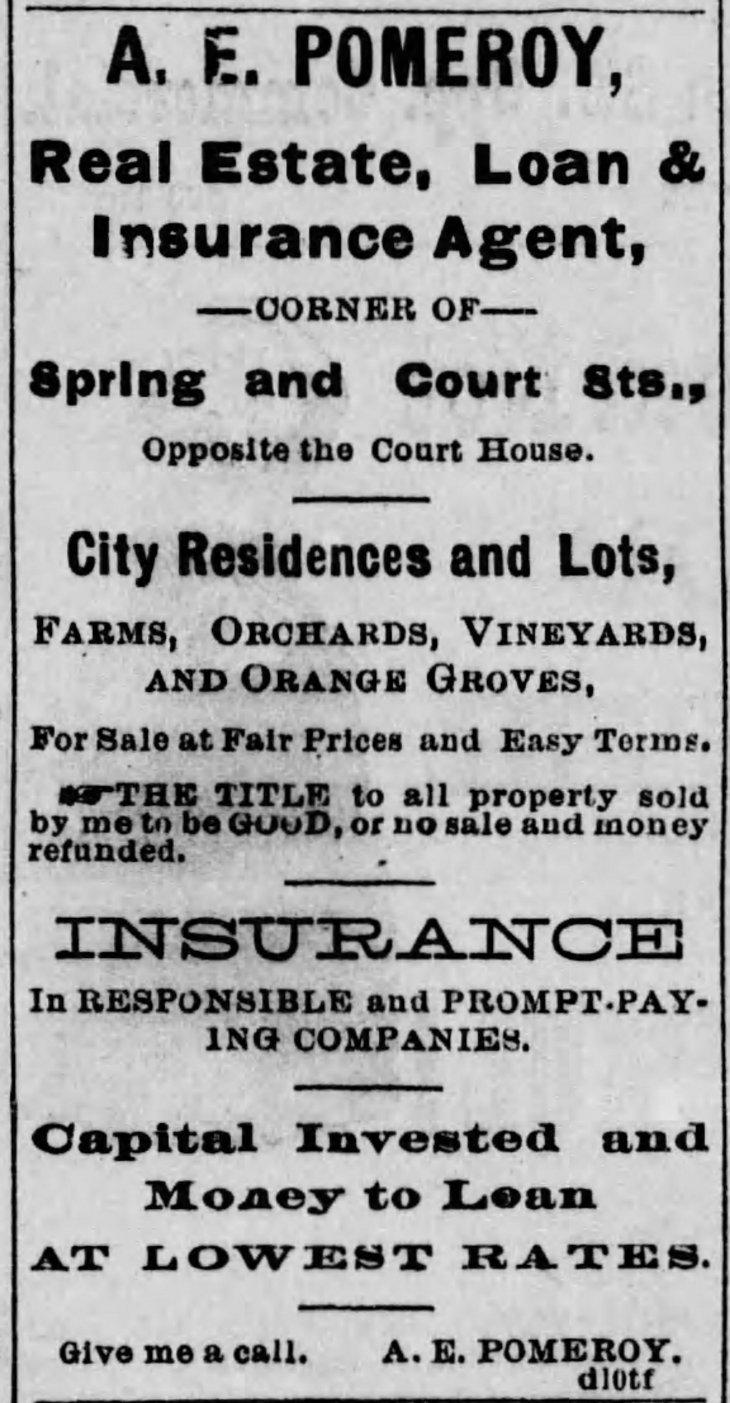 First ad Los_Angeles_Herald_Sun__Dec_25__1881_ (1)