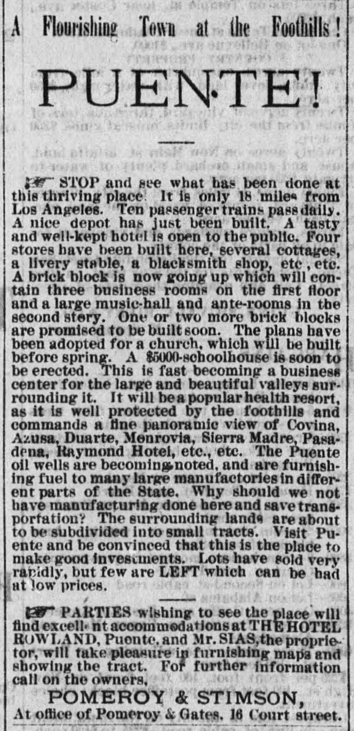 Puente ad The_Los_Angeles_Times_Tue__Jan_18__1887_