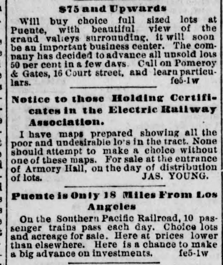 Puente ads Los_Angeles_Herald_Sun__Feb_6__1887_