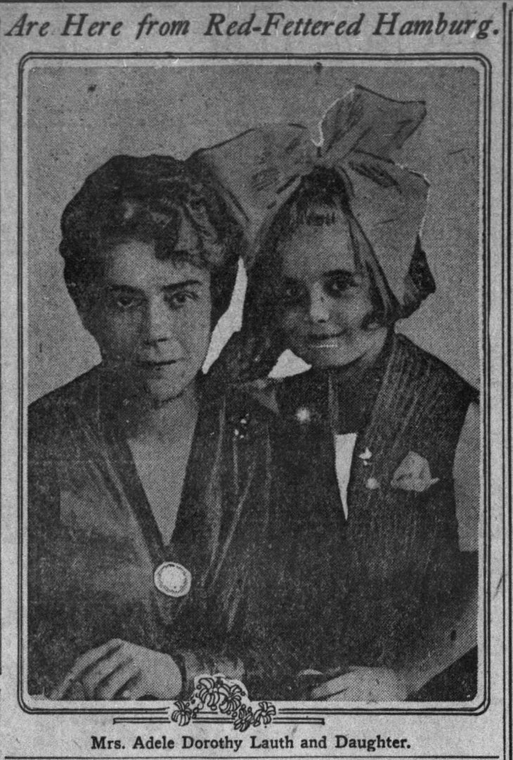 Adele D and Irene Lauth photo The_Los_Angeles_Times_Sun__Oct_10__1920_