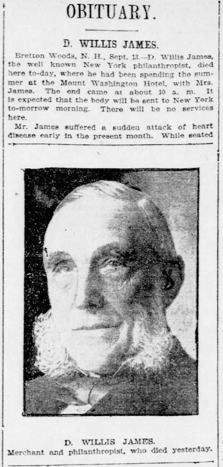 James obit and photo New_York_Tribune_Sat__Sep_14__1907_