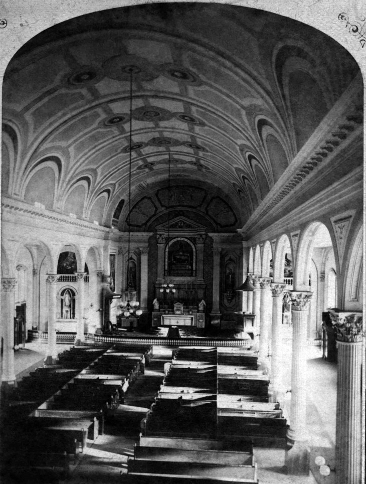 SV No 54 The Cathedral Of Los Angeles Cal Interior View 2007.65.