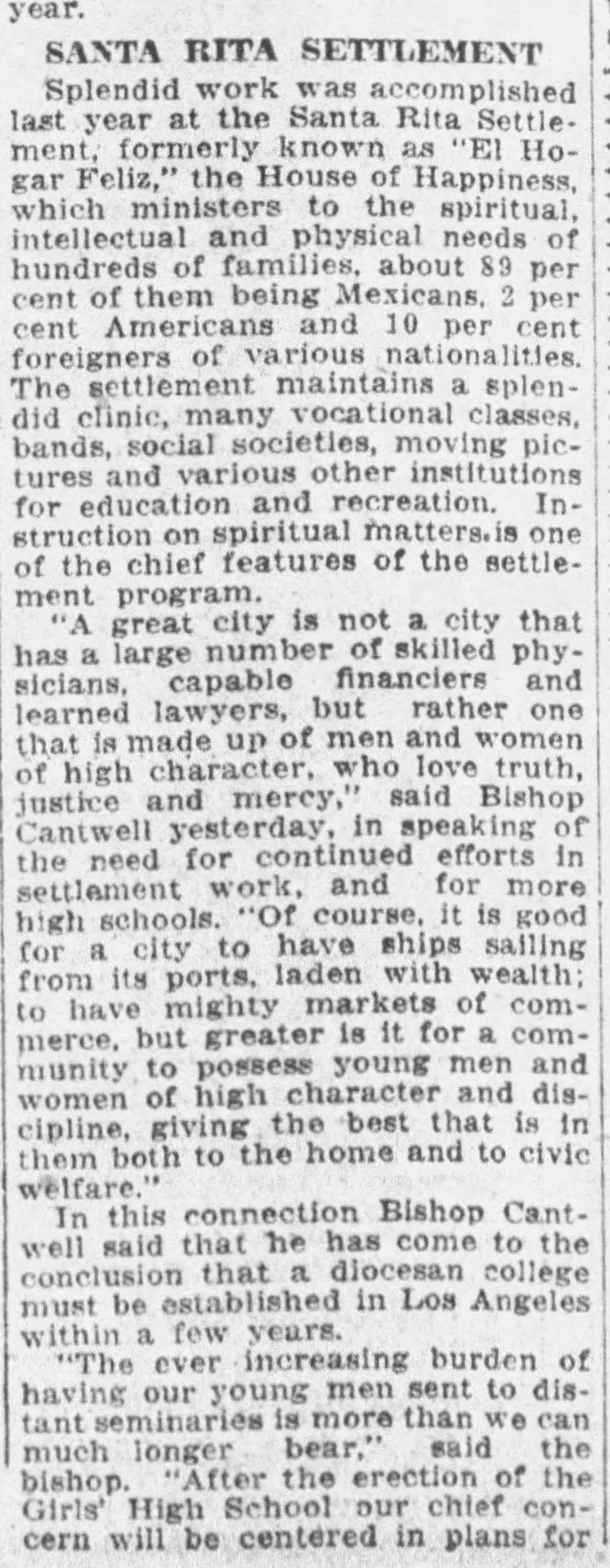 Santa Rita Settlement The_Los_Angeles_Times_Sun__Apr_23__1922_