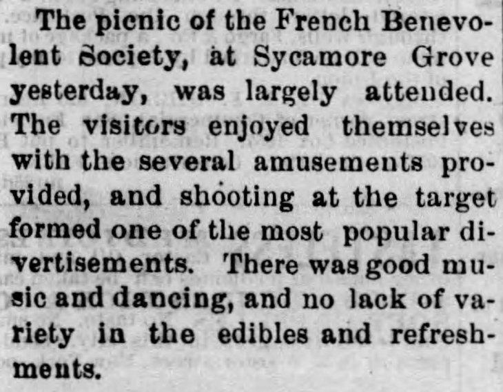 Sycamore Grove French Benevolent Society Evening_Express_Mon__Jun_29__1874_