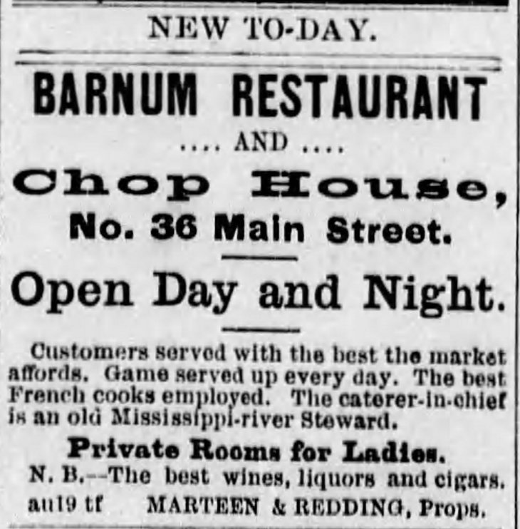 Redding and Marteen restaurant The_Daily_Evening_Express_Thu__Aug_19__1875_