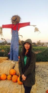Sarah #2 - Pumpkin Patch at Cal Poly Pomona