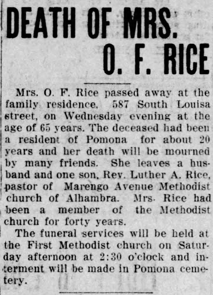 Susan Rice obit The_Pomona_Progress_Thu__Mar_2__1911_