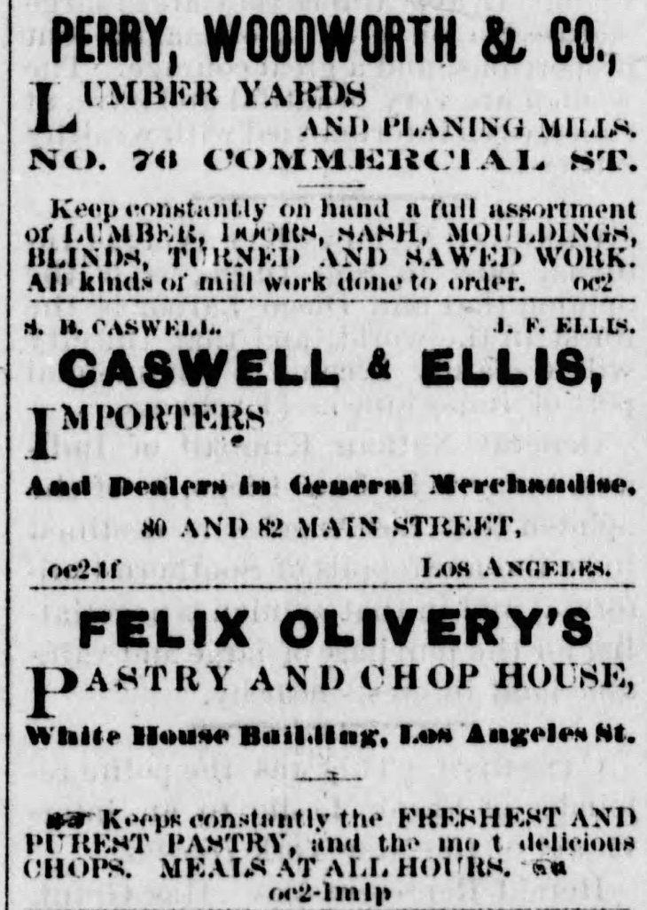 Caswell & Ellis ad Los_Angeles_Herald_Thu__Oct_2__1873_