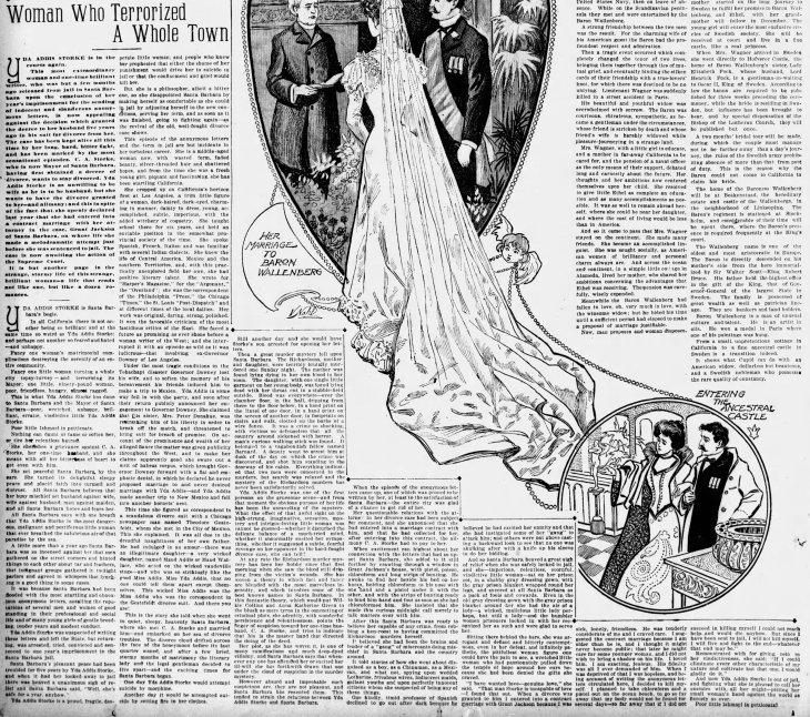 Woman Who Terrorized a Whole Town The_San_Francisco_Examiner_Sun__Nov_11__1900_