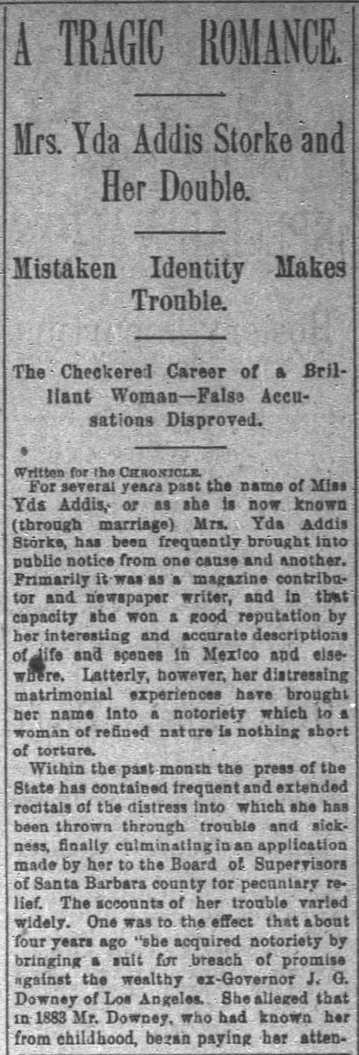 Yda and her half sister Maude detail 1 San_Francisco_Chronicle_Sun__Jul_31__1892_