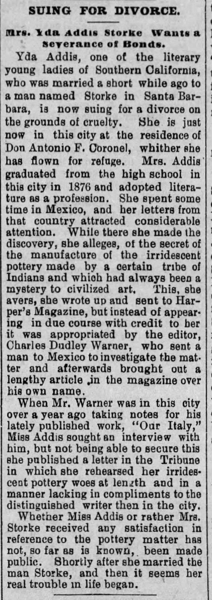 Yda divorce suit The_Evening_Express_Fri__Aug_7__1891_
