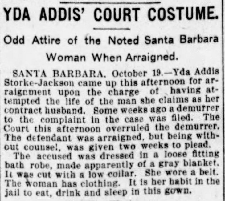 Yda odd attire The_San_Francisco_Examiner_Fri__Oct_20__1899_