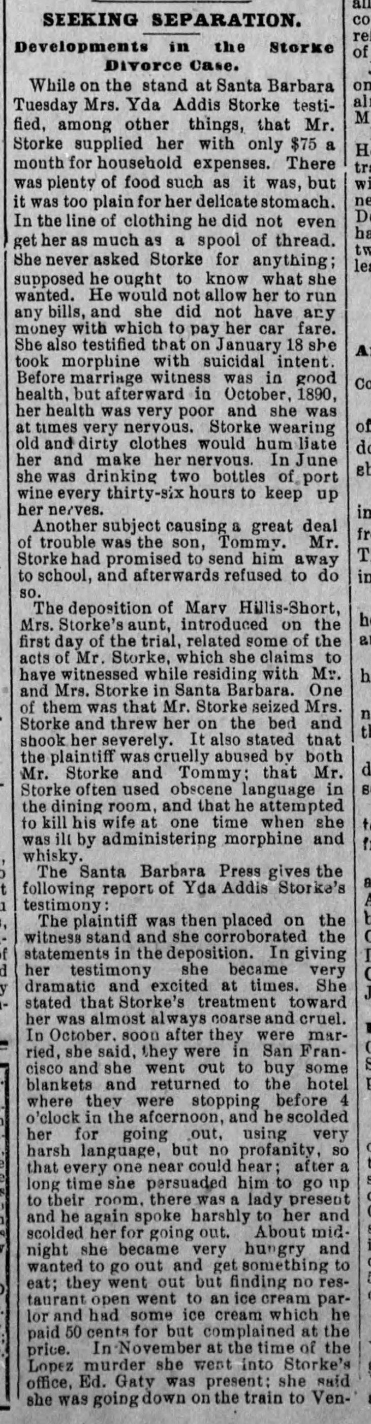Yda testimony The_Evening_Express_Wed__Jan_6__1892_