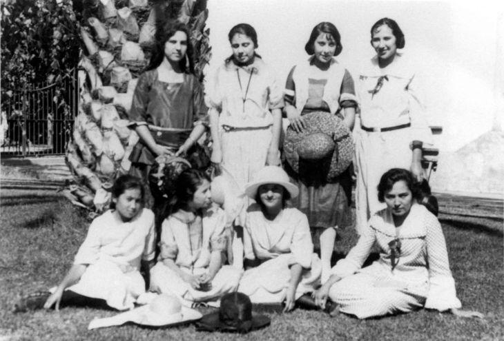 Agnes Temple And Friends Mission San Gabriel 99.5.15.314