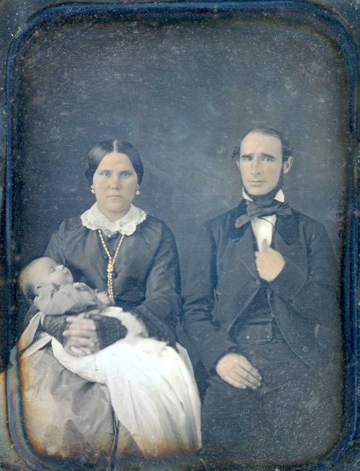 Francisca Temple Gregorio de Ajuria and child 1850s - Copy