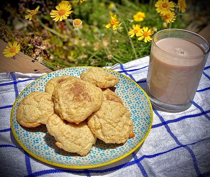 Sour cream cookies pic