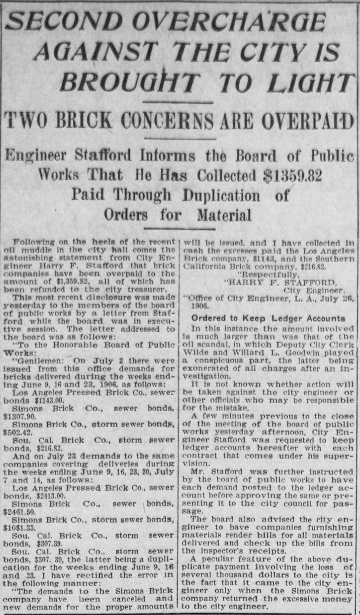 Stafford overpayment Los_Angeles_Herald_Fri__Jul_27__1906_