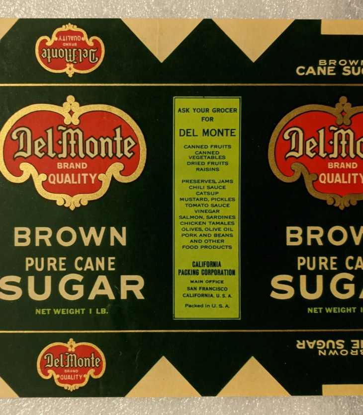 Del Monte Brown Pure Cane Sugar