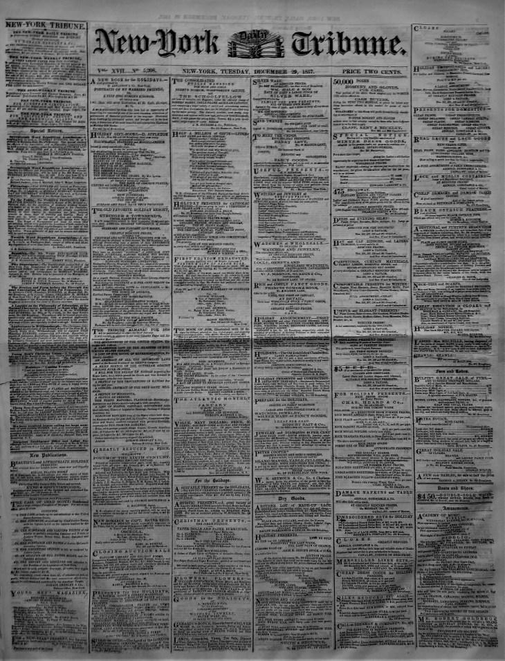 NY Tribune 1857 wine 4