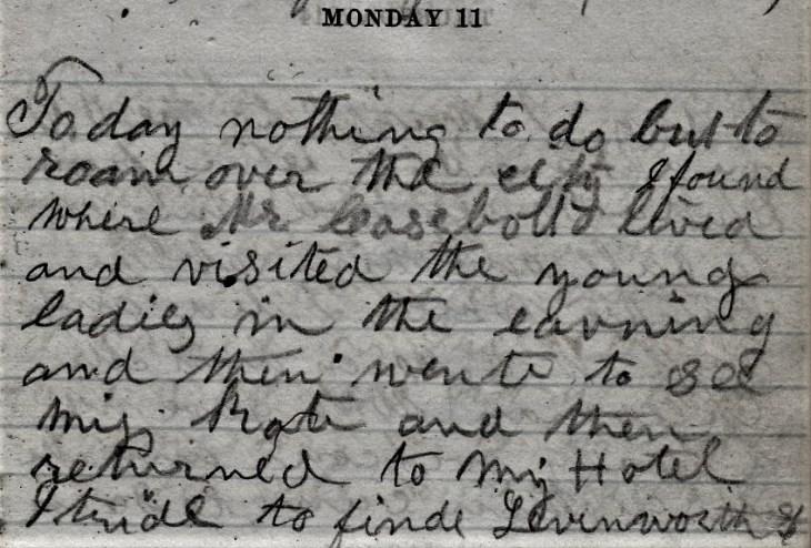 Jenkins Diary September 11