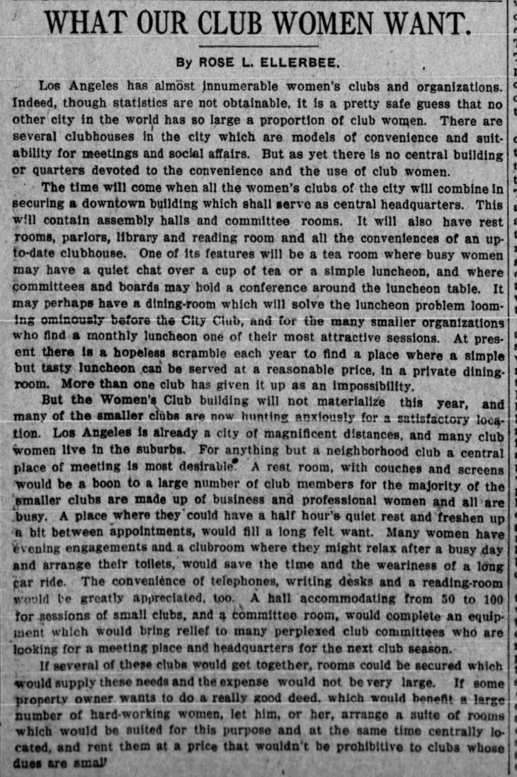 Ellerbee editorial Club Women The_Los_Angeles_Times_Thu__Jul_20__1911_