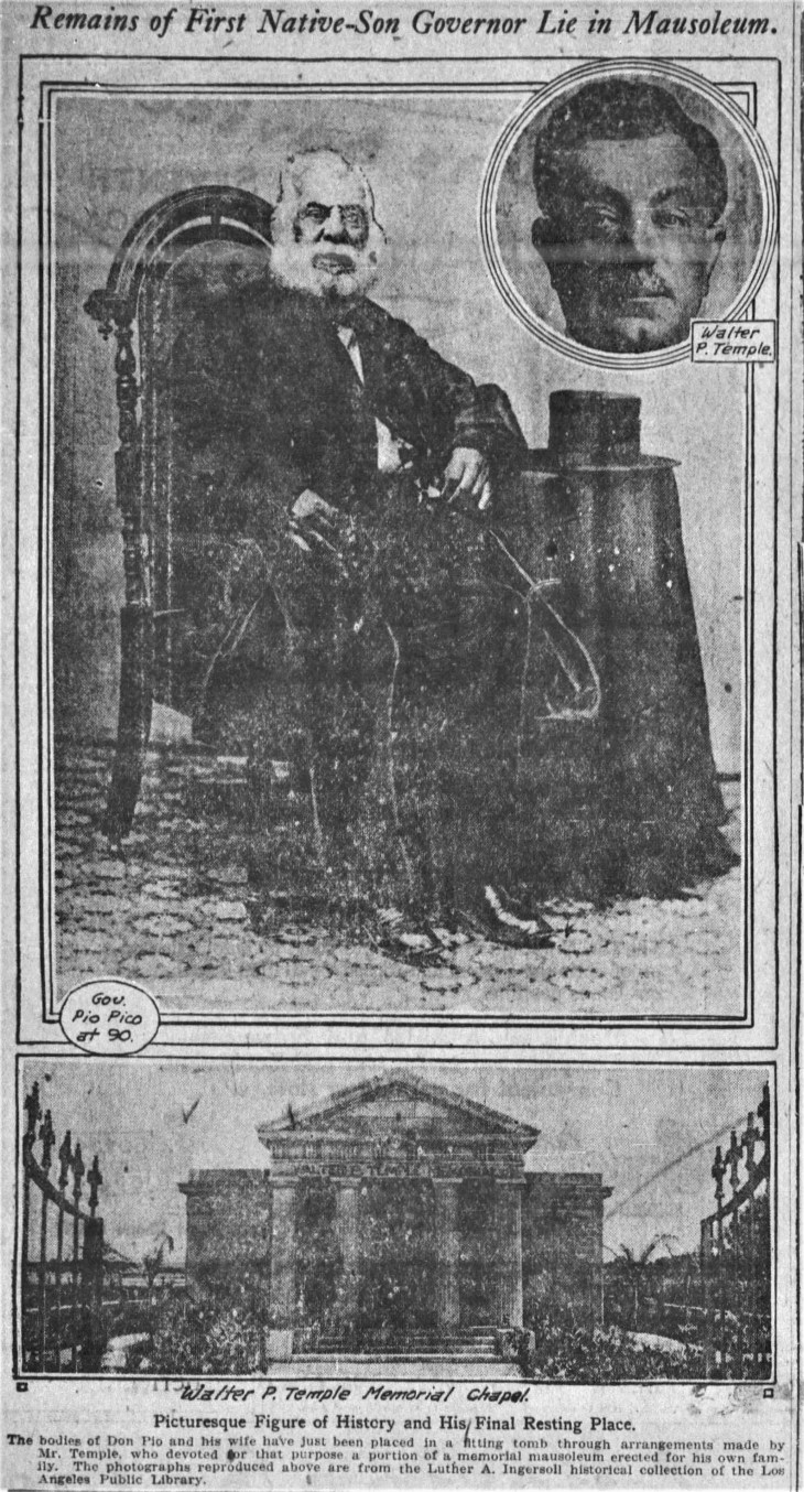 Honor for Ashes of Pio Pico The_Los_Angeles_Times_Sun__Mar_6__1921_ (2)