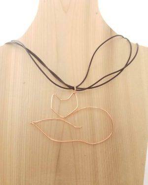 Copper Fox Necklace