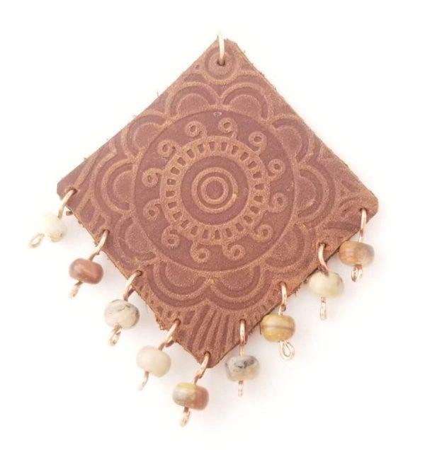 Diamond Mandala Pendant
