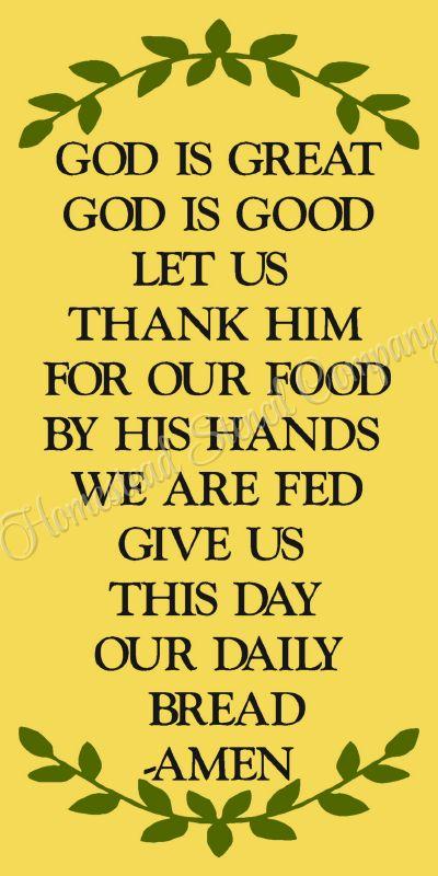 My God Is Good : Great, Thank, Food-, Reusable, Plastic, Stencil,Prayer, Mylar, Stencil