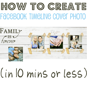 How To Create A Facebook Timeline Cover Photo Template