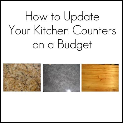 Updating Your Kitchen Counters On A Budget  Home Stories