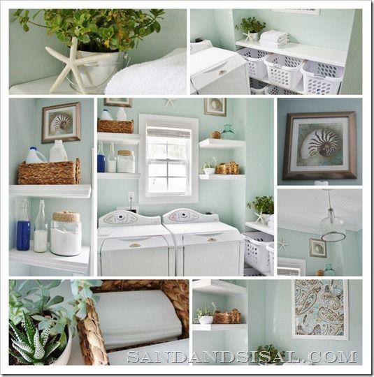 Inspiration File Laundry Room Makeover Via Sand & Sisal