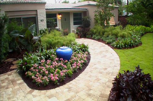 cheap landscaping ideas front