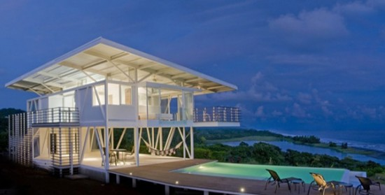 Eco Friendly Beach House  Home Trendy