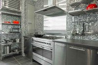 Stainless Steel IKEA Kitchen Cabinets | Home Trendy