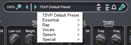 Audified ToneSpot Voice Pro Review presets and gain controls