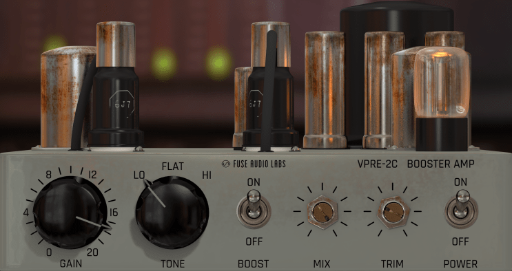 Fuse Audio Labs VPRE-2C Review main plugin image