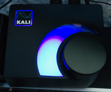 Kali Audio MV-BT Bluetooth Monitor Controller Review powered on